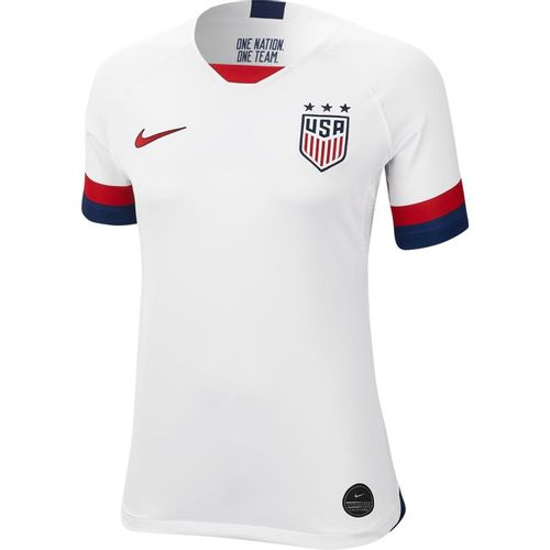 Women's Nike U.S. Stadium 2019 Home Soccer Jersey (White)