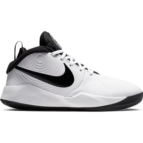Grade School Nike Team Hustle D9 (White/Black)