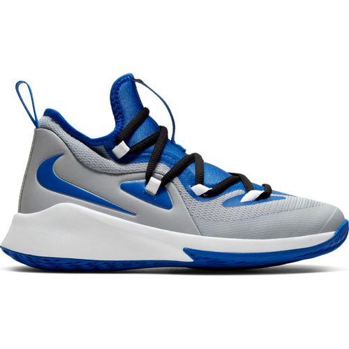 Grade School Nike Future Court 2 (Wolf Grey/Royal)