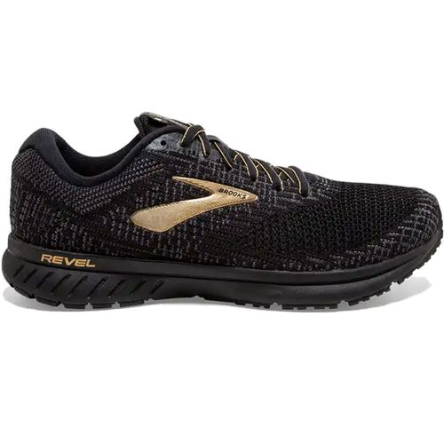 Men's Brooks Revel 3 (Black/Ebony)