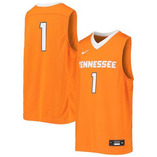 Youth Nike Tennessee Volunteers #1 Basketball Jersey (Orange)