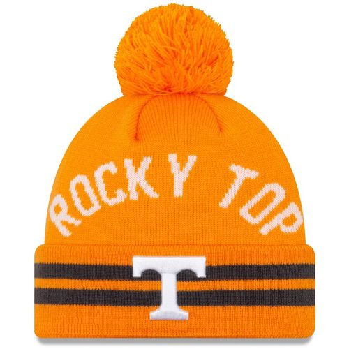 New Era Tennessee Volunteers Arch Knit Hat (Orange)