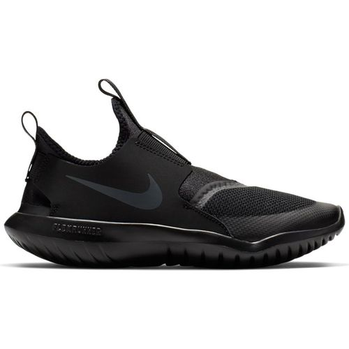 Grade School Nike Flex Runner (Black/Anthracite)