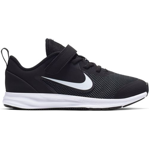 Pre School Nike Downshifter 9 (Black/White)