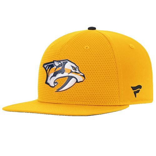 Fanatics Nashville Predators Rinkside Adjustable Snapback Hat (Gold)
