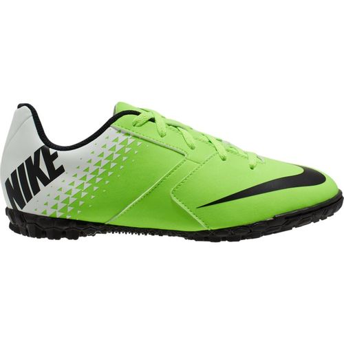 Grade School Nike Jr. BombaX Turf Shoe (Green/Black)