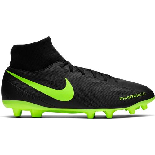 Men's Nike Phantom Vision Club Dynamic FG Soccer Cleat (Black/Volt)