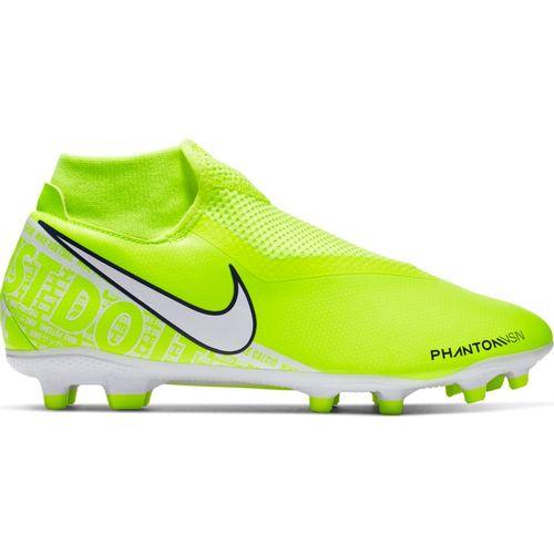 Men's Nike Phantom Vision Academy Dynamic MG Soccer Cleat (Volt/White)