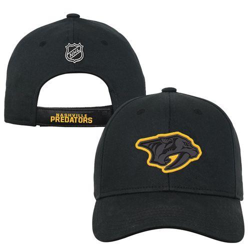 Youth Nashville Predators Color Pop Adjustable Hat (Black)