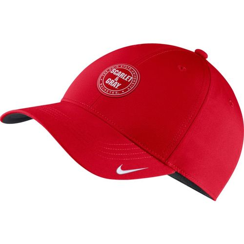 Nike Ohio State Buckeyes Legend 91 Rivalry Adjustable Hat (Red)