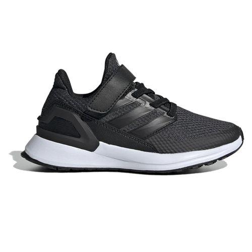 Pre School Adidas RapidaRun (Black/Carbon)