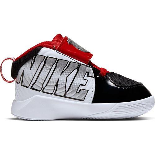Toddler Nike Team Hustle D9 Auto (Black/Silver)
