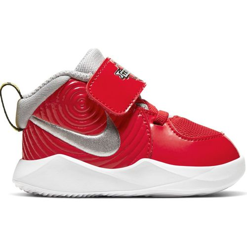 Toddler Nike Team Hustle D9 Auto (Red/Silver)