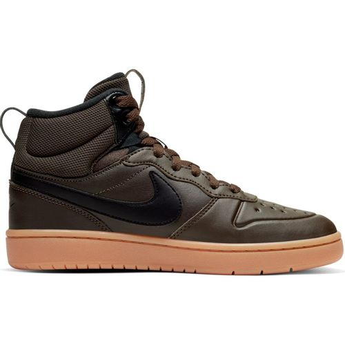 Grade School Nike Court Borough Mid 2 (Brown/Black)