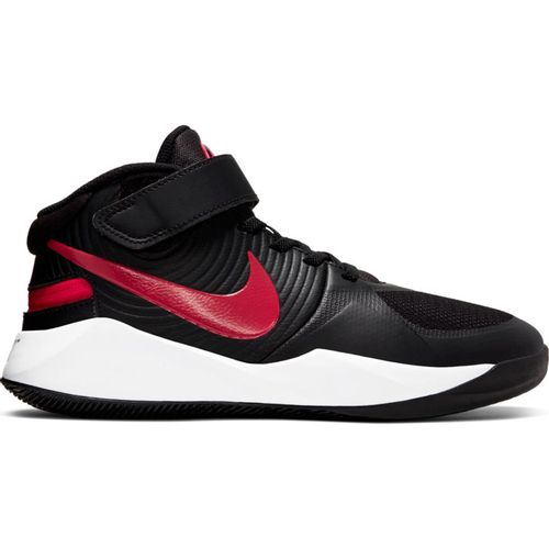Grade School Nike Team Hustle D9 Flyease (Black/Red)