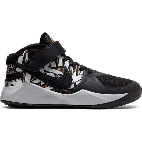 Grade School Nike Team Hustle D9 Flyease (Black/Cermic)