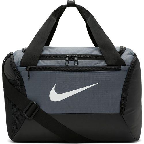 Nike Brasilia Extra-Small Training Duffel Bag (Grey/Black)