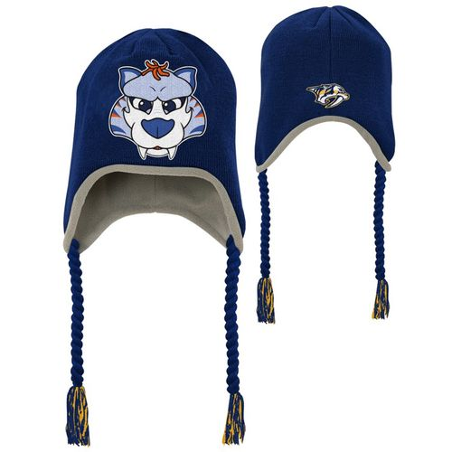 Kid's Nashville Predators Trooper Knit Hat (Navy)