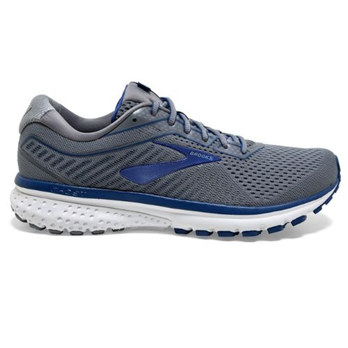 Men's Brooks Ghost 12 (Grey/Alloy)