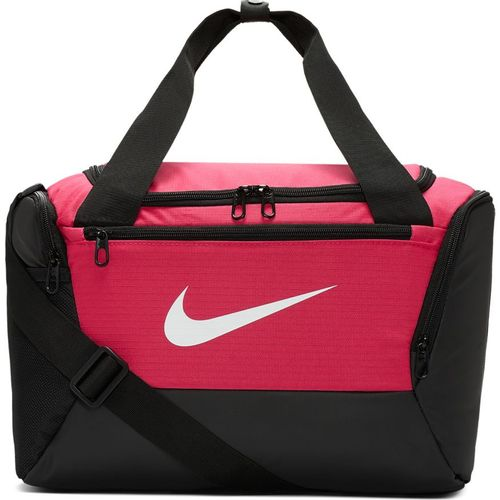 Nike Brasilia Extra-Small Training Duffel Bag (Pink/Black)