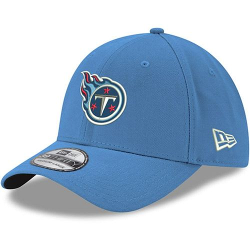 New Era Tennessee Titans Team Classic Flex Fit Hat (Light Blue)