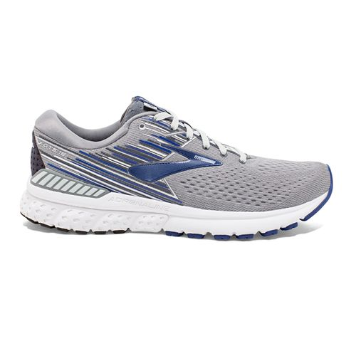 Men's Brooks Adrenaline GTS 19 Wide (Grey/Blue)