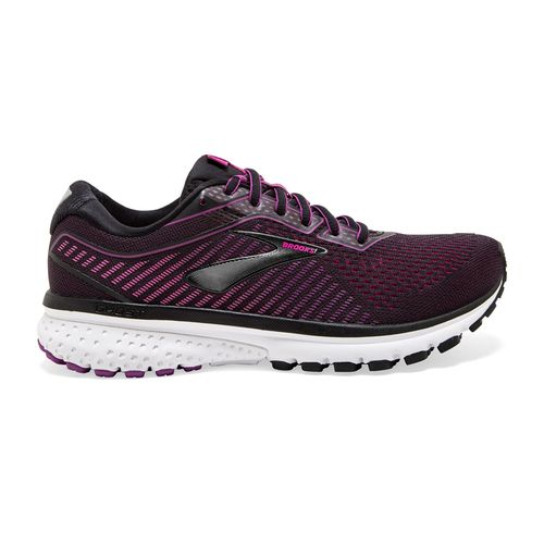 Women's Brooks Ghost 12 Wide (Black/Holly)