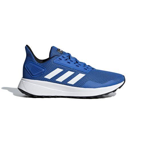 Grade School Adidas Duramo 9 (Blue/White)
