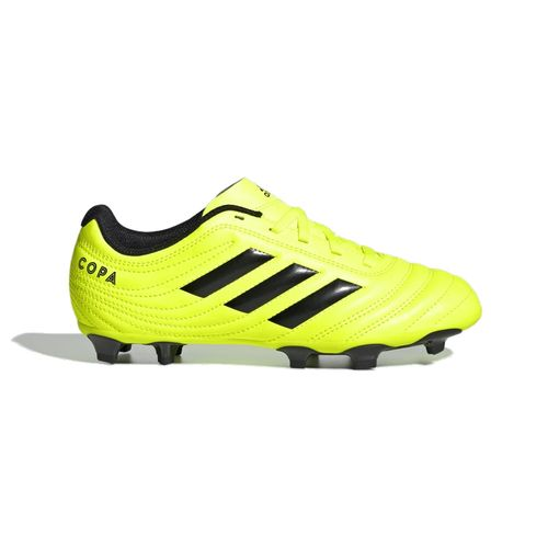 Pre School Adidas Copa 19.4 FG Soccer Cleat (Yellow/Black)