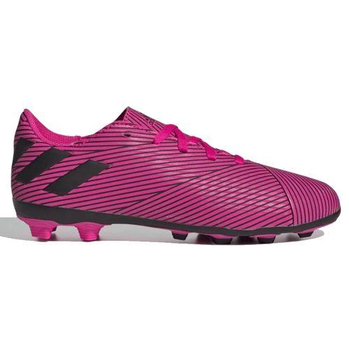 Grade School Adidas Nemeziz 19.4 FZG Soccer Cleat (Pink/Black)
