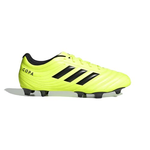 Men's Adidas Copa 19.4 FG Soccer Cleat (Yellow/Black)