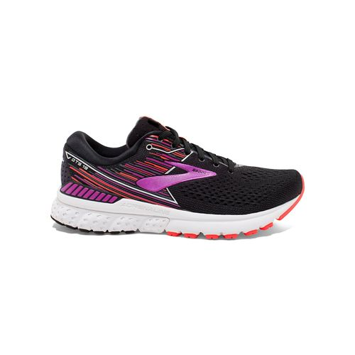 Women's Brooks Adrenaline GTS 19 Wide (Black/Purple)