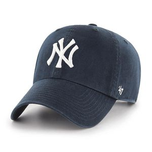 """'47 Brand New York Yankees """"NY"""" Clean Up Adjustable Hat (Navy)"""