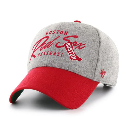 '47 Brand Boston Red Sox Fenmore Adjustable Hat (Grey/Red)