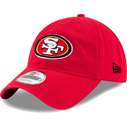 New Era San Francisco 49ers Core Classic Adjustable Hat (Scarlet)