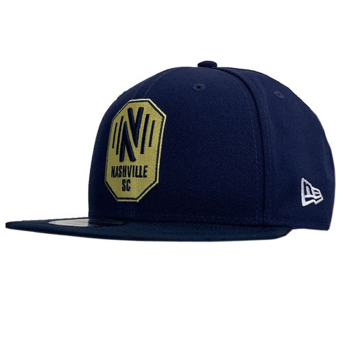 New Era Nashville Soccer Club Snapback Adjustable Hat (Navy)