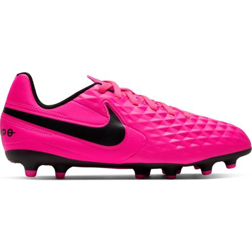 Pre School Nike Jr. Tiempo Legend 8 Club Soccer Cleat (Pink/Black)