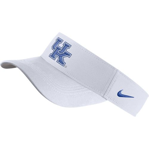 Nike Kentucky Wildcats Dri-FIT Adjustable Visor (White)