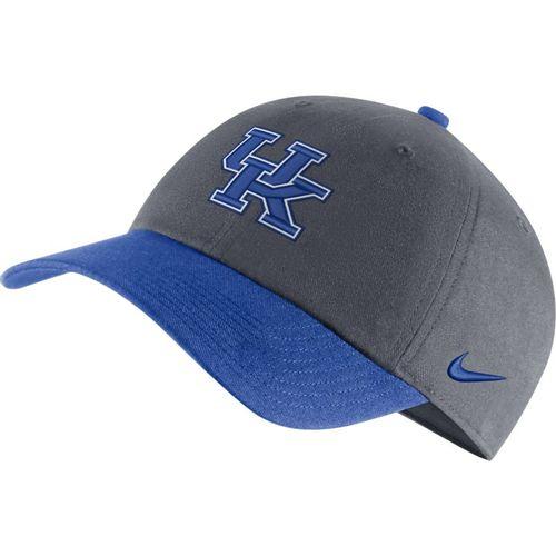 Nike Kentucky Wildcats Heritage 86 Logo Adjustable Hat (Grey/Royal)
