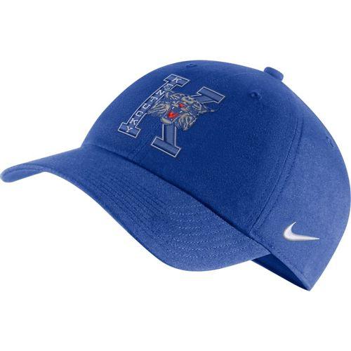 Nike Kentucky Wildcats Heritage 86 Logo Adjustable Hat (Royal)