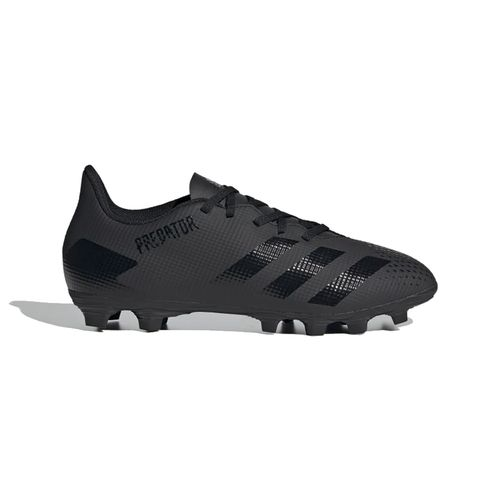 Men's Adidas Predator 20.4 FXG Soccer Cleat (Black/Black)