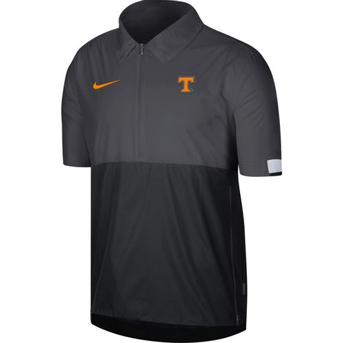 Men's Nike Tennessee Volunteers Lightweight Coaches Jacket (Anthracite/Black)