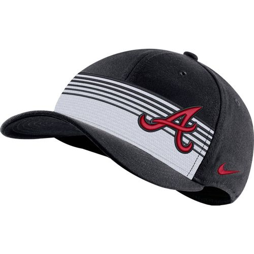 Nike Atlanta Braves Classic99 Stripe Hat (Pitch Blue)