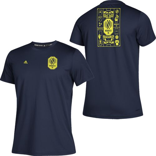 Youth Adidas Nashville Soccer Club Isn't It Iconic T-Shirt (Navy)