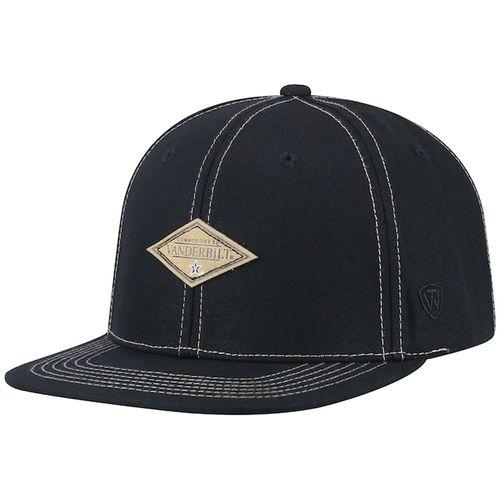 Vanderbilt Commodores Springlake Snapback Adjustable Hat (Black)