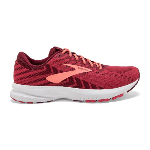 Women's Brooks Launch 6 (Red/Teaberry)