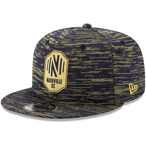 New Era Nashville Soccer Club On Field 2020 Snapback Adjustable Hat (Navy/Gold)