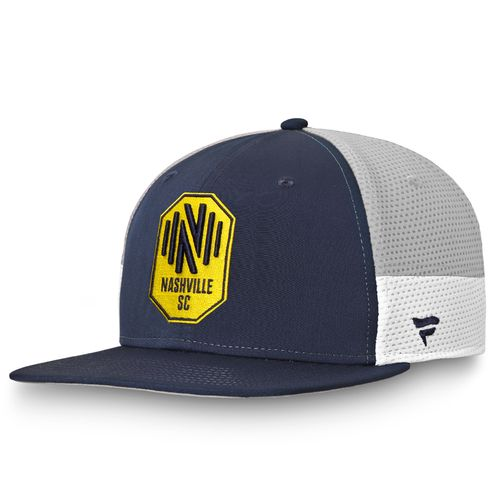 Fanatics Nashville Soccer Club Match Day Snapback Adjustable Hat (Navy)