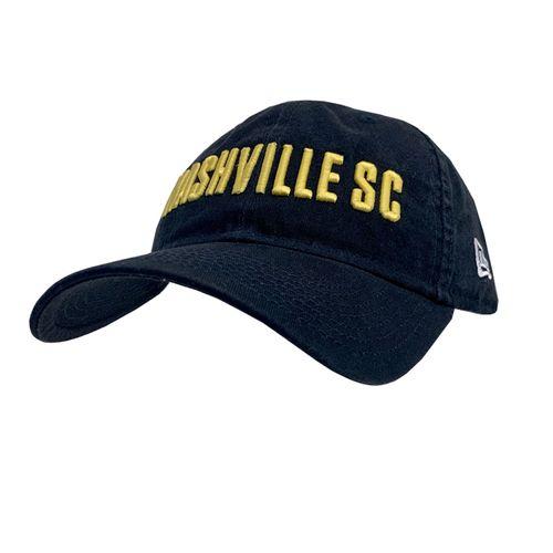 New Era Nashville Soccer Club Logo 9TWENTY Adjustable Hat (Navy)