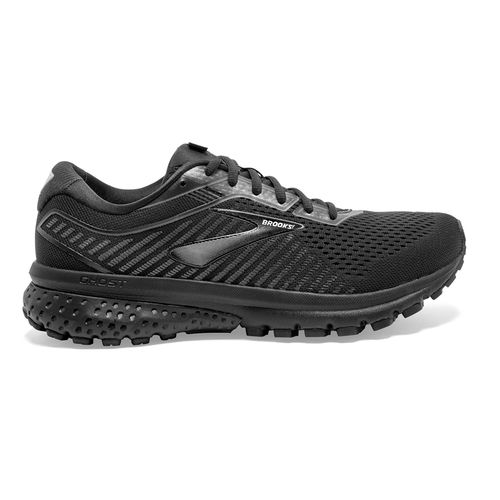 Men's Brooks Ghost 12 Extra Wide (Black)